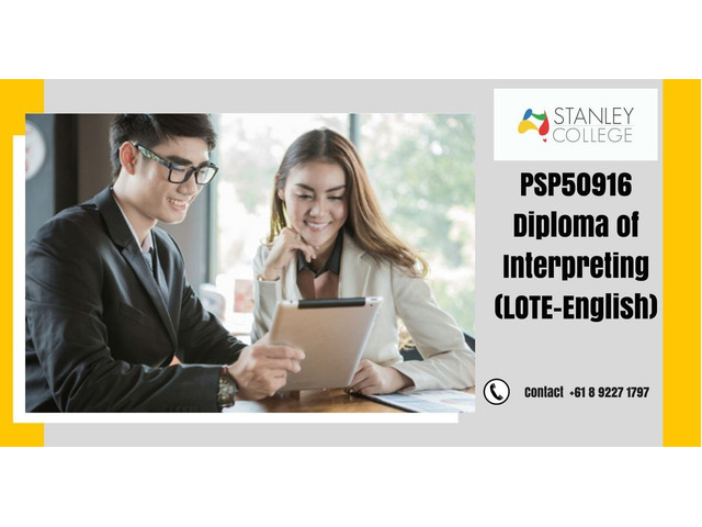 Carry forward your career in Australia by enrolling in diploma of interpreting - 1