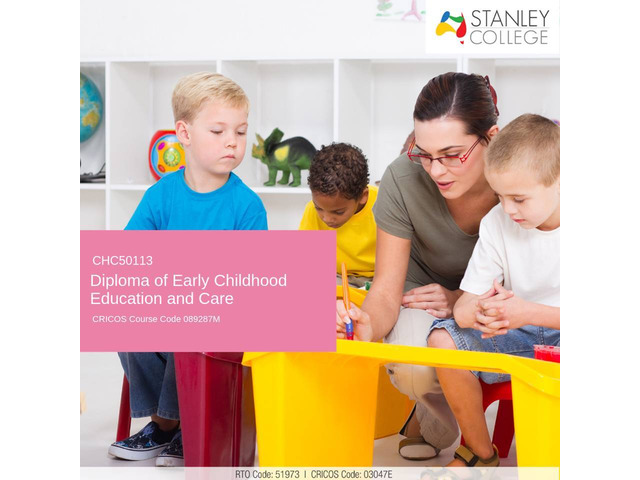Thinking to study diploma of early childhood education and care in Australia? Apply now! - 1