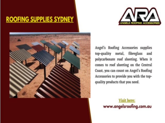 Quality Roofing Sheet Supplier in Central Coast - 1